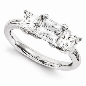 ALL SIZES 14kw Diamond Engagement Ring